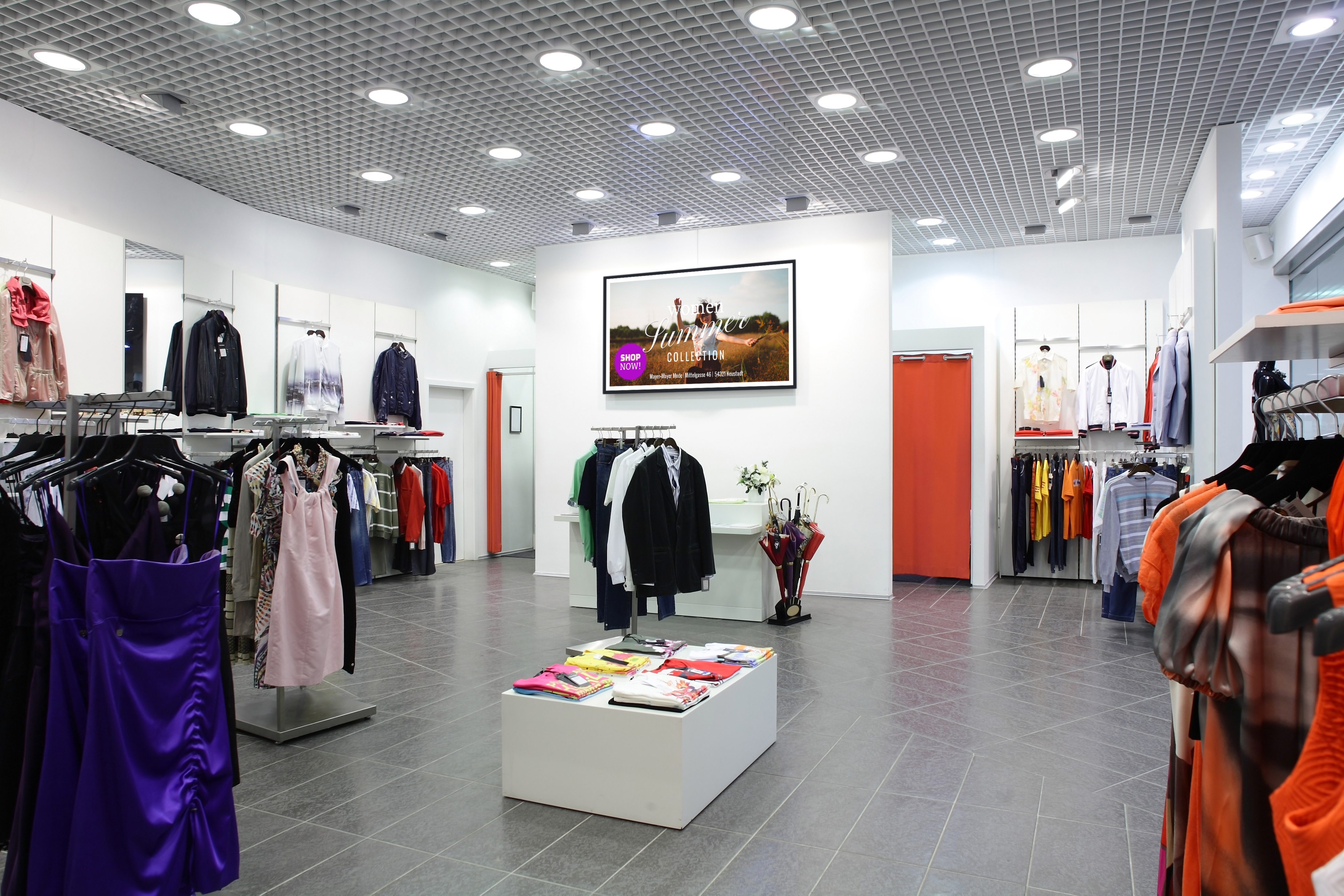 viewneo Digital-Signage Retail