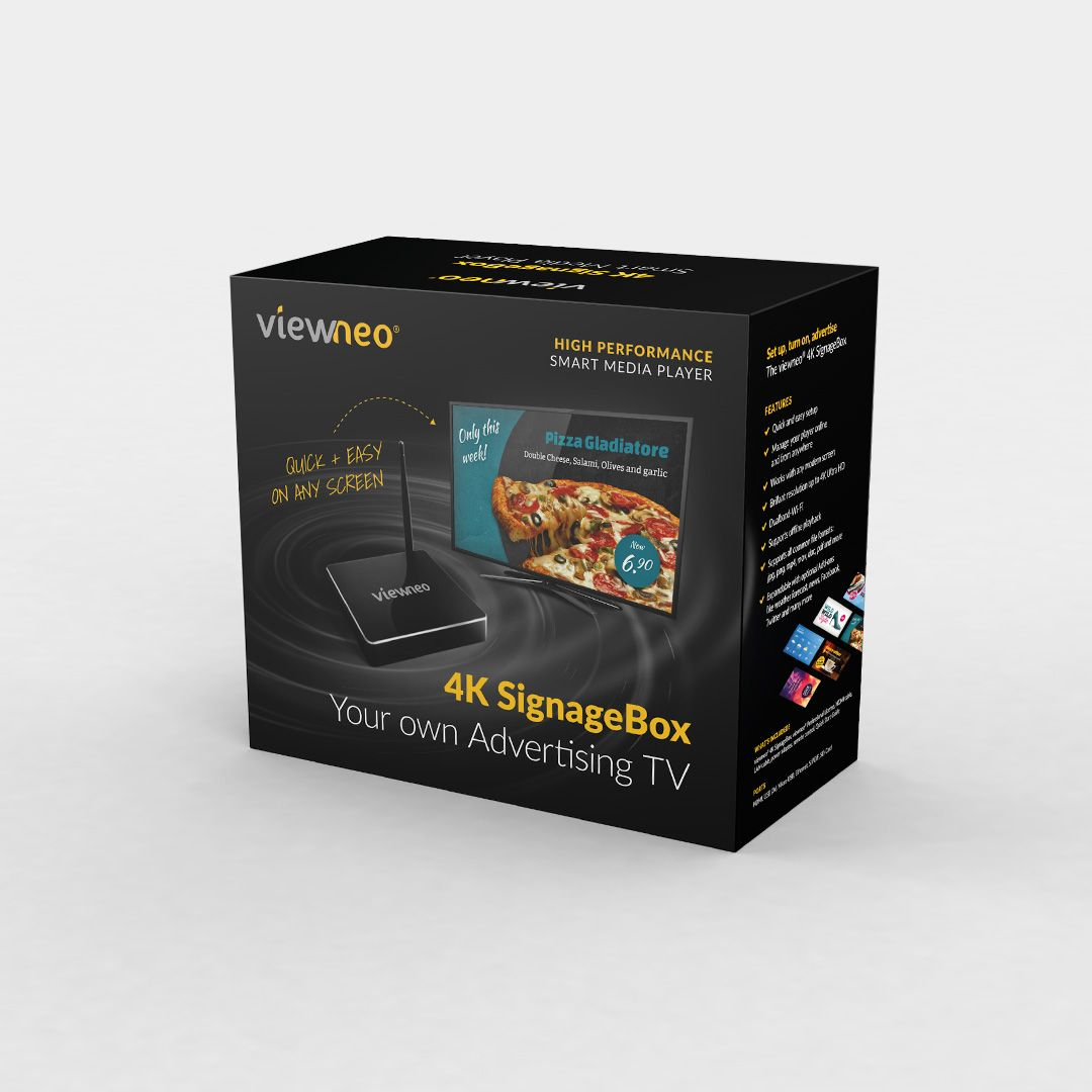 viewneo 4K-SignageBox Packagin